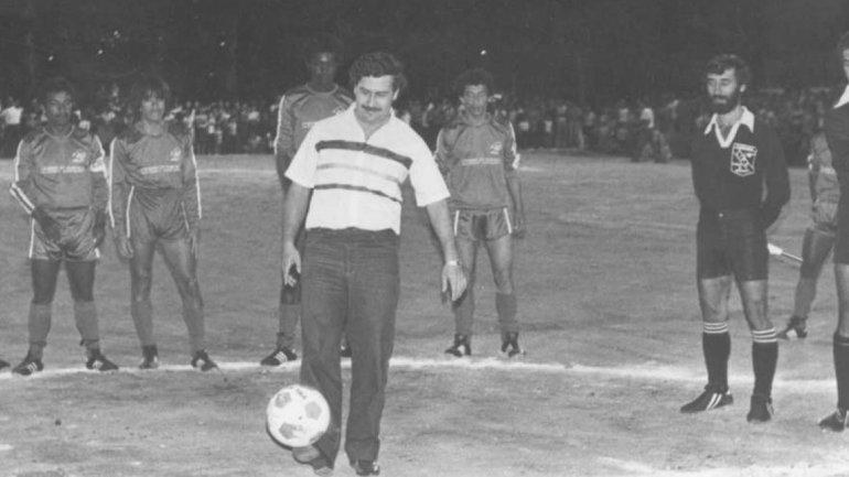 Pablo Escoabr en el fútbol