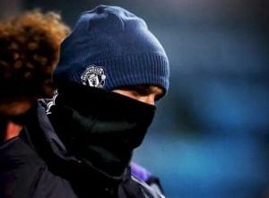 Zlatan Ibrahimovic con frío
