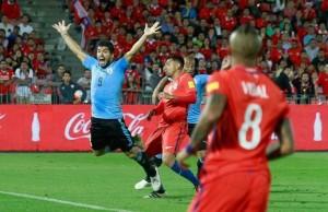 Memes de Luis Suárez ante Chile
