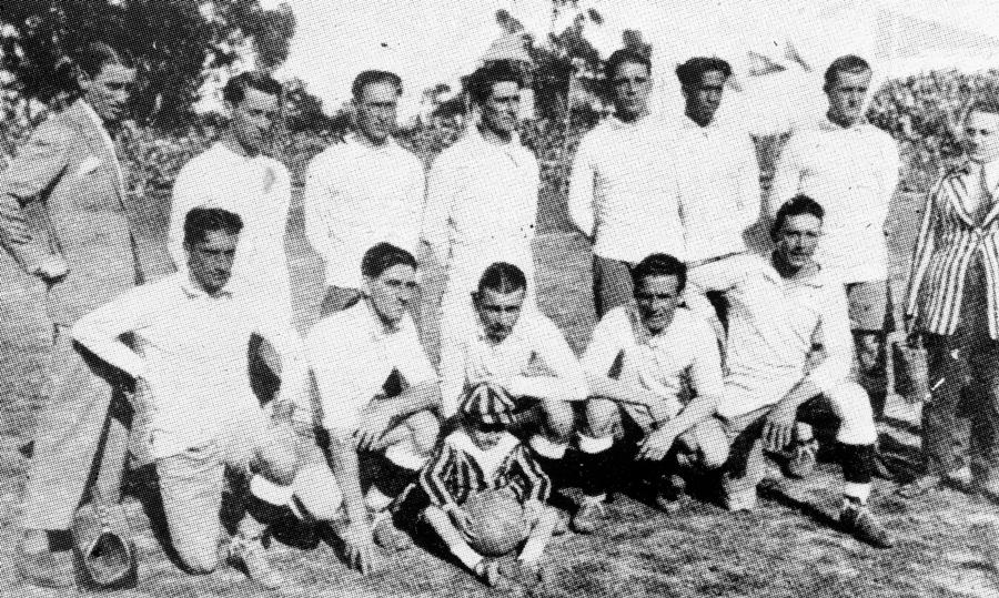 Selección de Uruguay en el Campeonato Sudamericano 1923