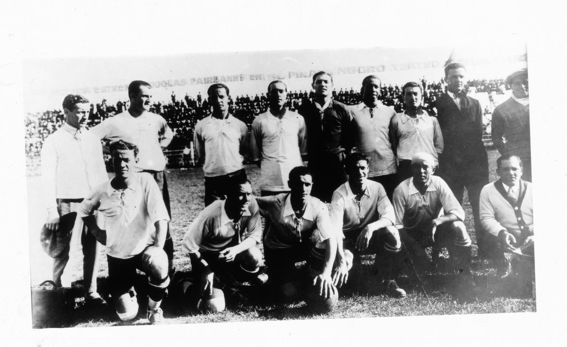 Formacion Seleccion de Uruguay, año 1926
