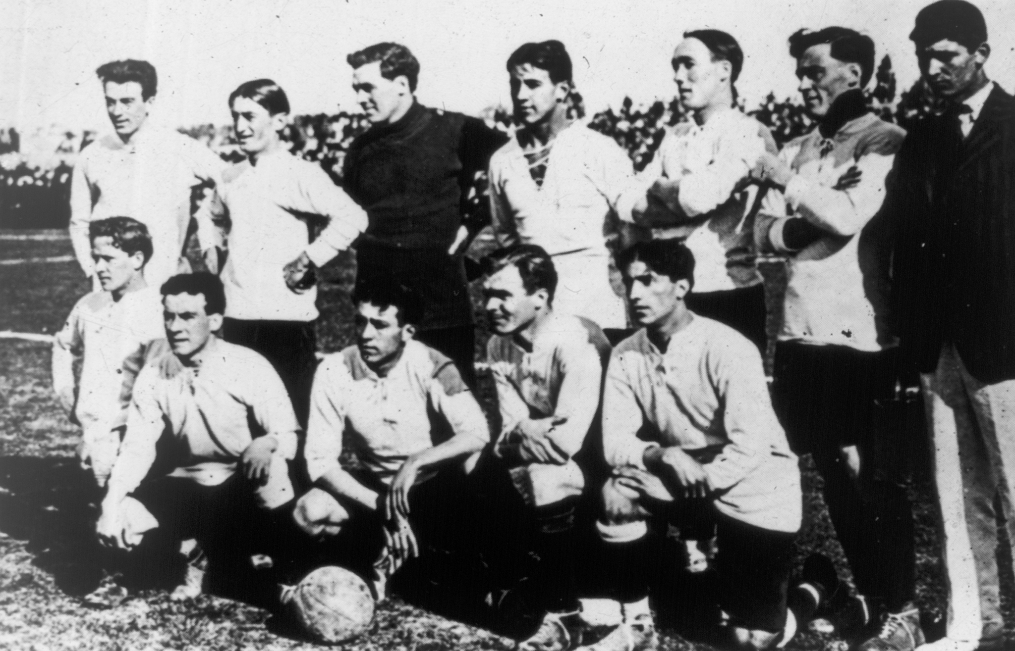 Selección de Uruguay en el Campeonato Sudamericano de 1917.