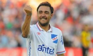 Álvaro Recoba en Nacional