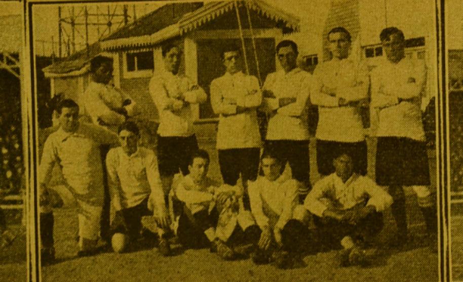 Uruguay en la Copa América de 1916.