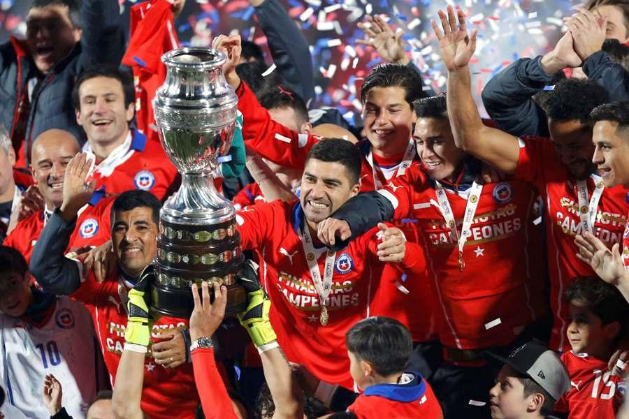 Chile conquistó su único título en 2015