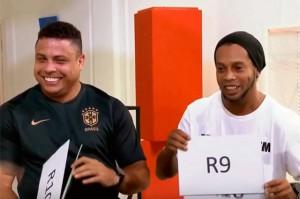 Ronaldo y Ronaldinho