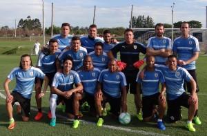 El equipo ganador del picado informal de Uruguay