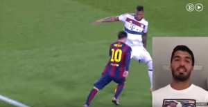 Suárez y Lionel Messi