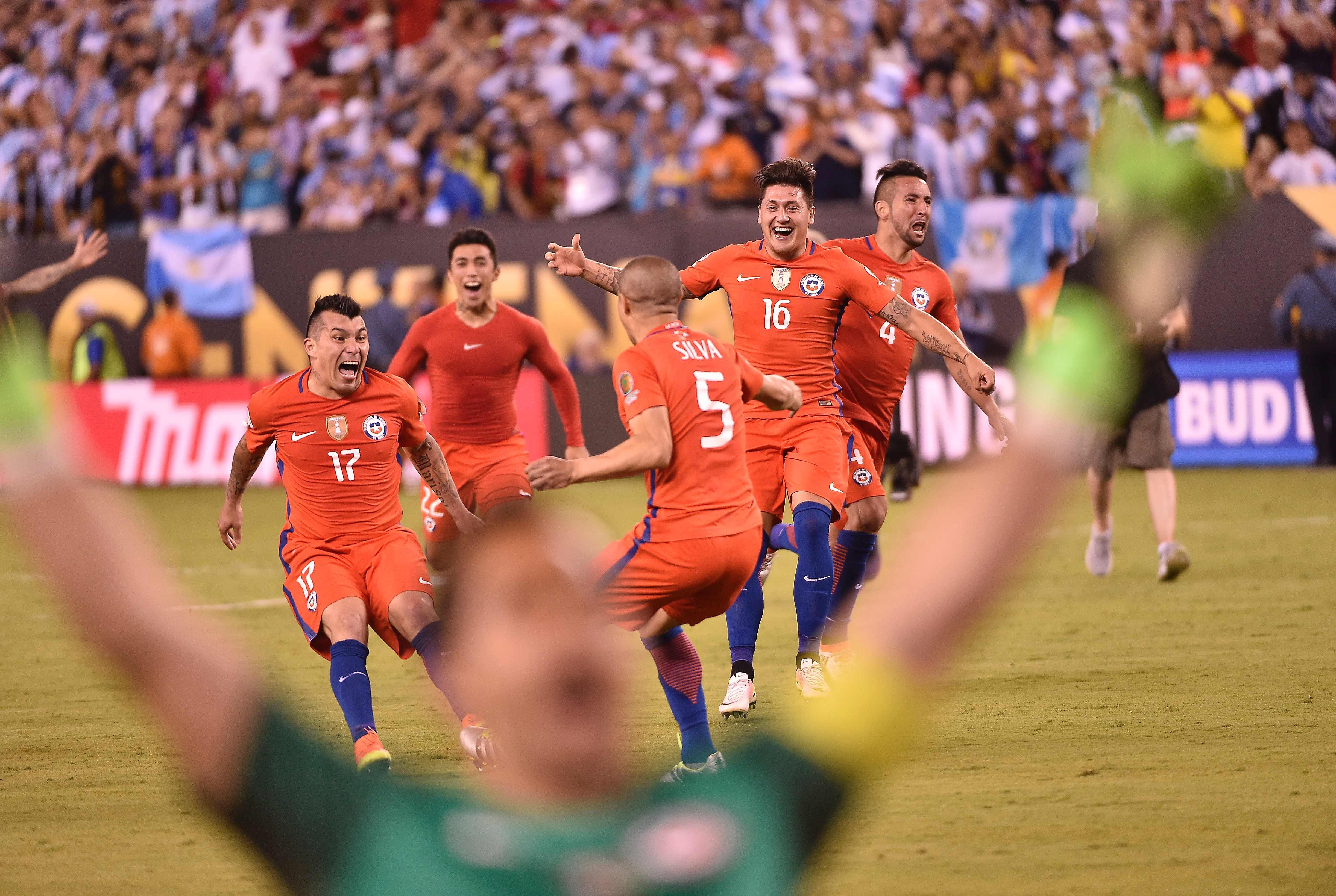 Argentina-Chile final Copa América Centenario