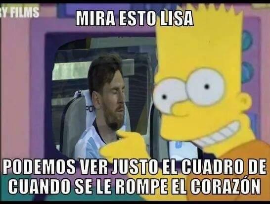 Memes tras la derrota de Argentina