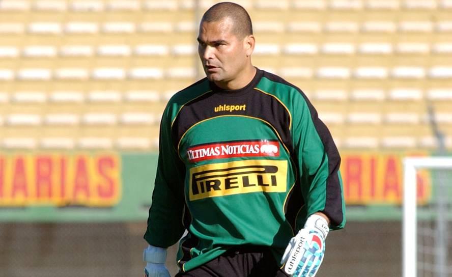 José Luis Chilavert: El golero siempre tuvo una robusta compostura pero no le impidió ser uno de los mejores arqueros paraguayos en la historia.