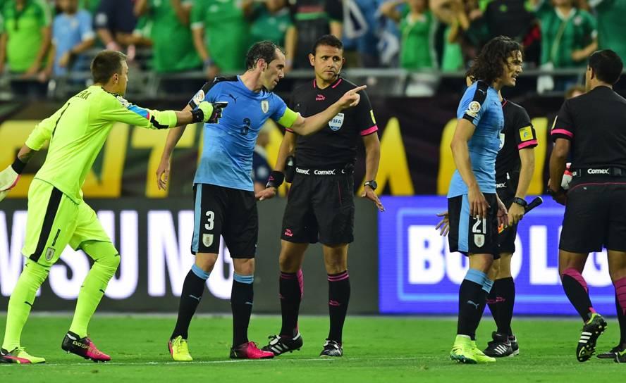Uruguay-México en la Copa América Centenario