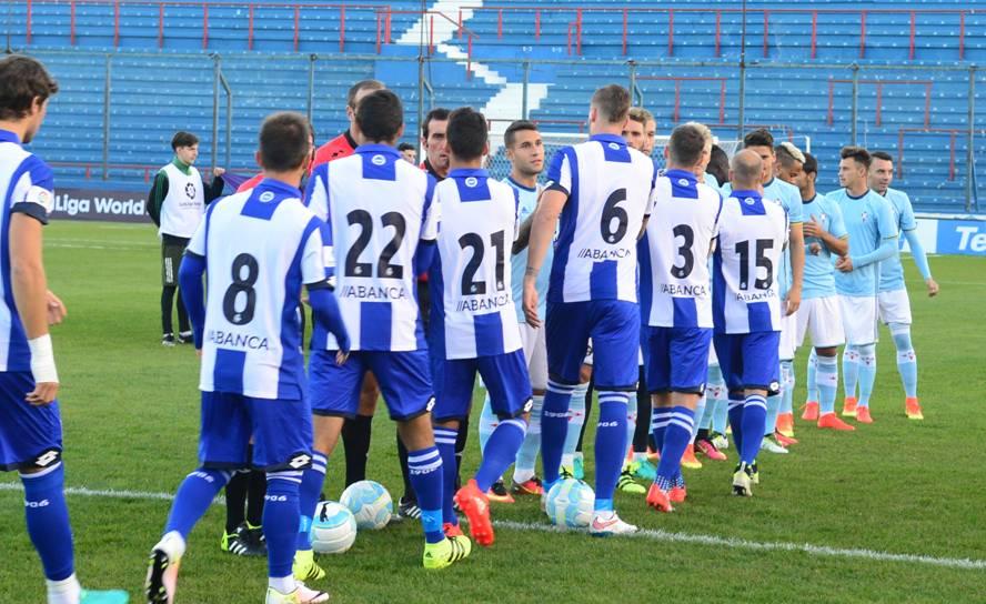 Deportivo La Coruña ante Celta