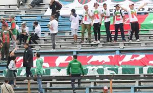 Rampla Juniors durante el clásico ante Cerro