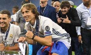 Infiltrados en festejos de la Champions League