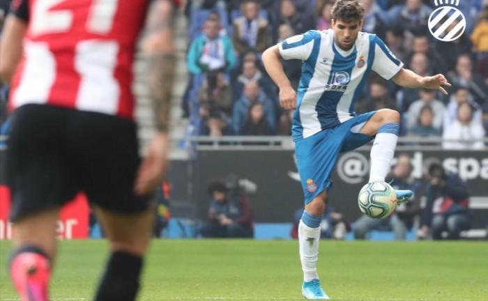 Leandro Cabrera, nuevo jugador de futbol de Espanyol, foto @rcdespanyol, 2020, Barcelona, España