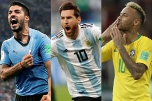 Luis Suárez, Lionel Messi, Neymar