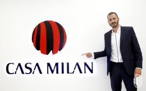 Leonardo Bonucci en Milan