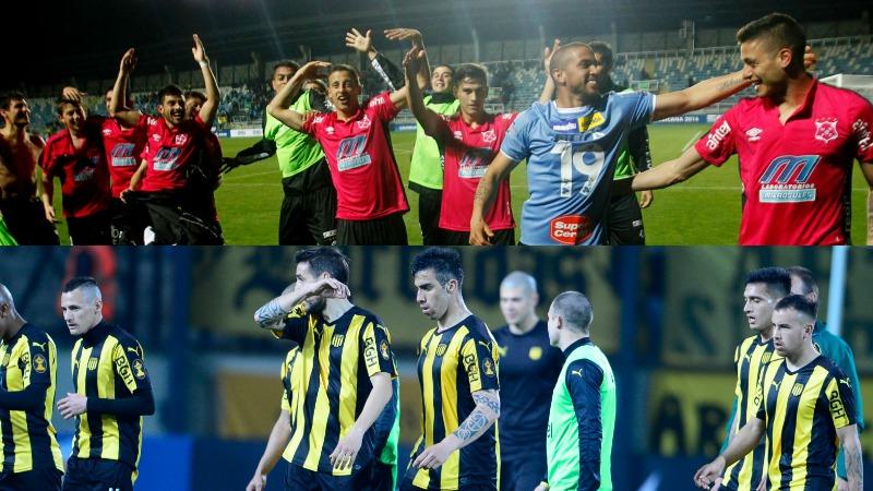Wanderers y Peñarol