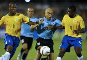 SELECCION DE BRASIL VS SELECCION DE URUGUAY
