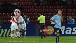 Selección de Perú vs Selección de Uruguay