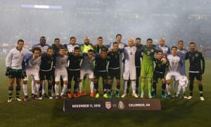 Los equipos de México y Estados Unidos