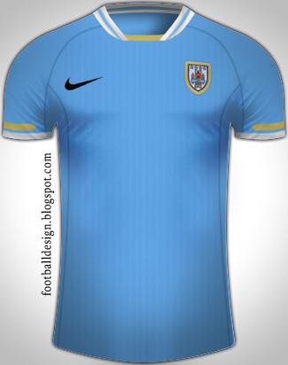 Uruguay en Nike