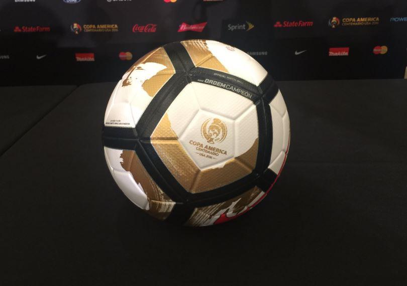 Pelota de la final de la Copa América Centenario