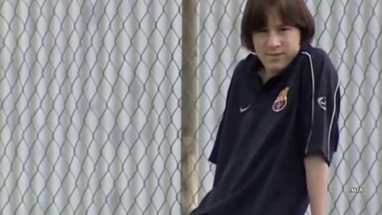 Lionel Messi llegada a Barcelona