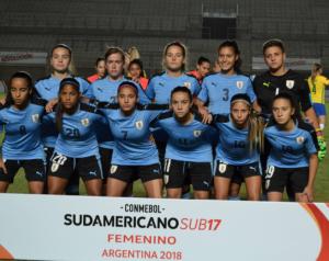 sub 17 femenina equipo