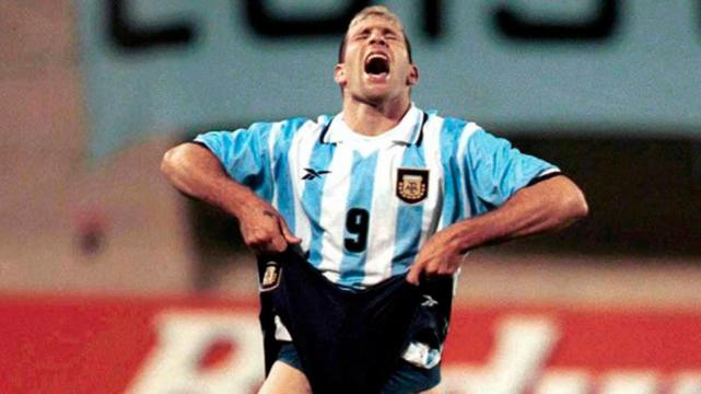 Martín Palermo tras fallar tres penales