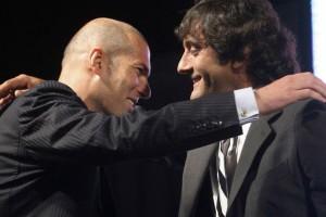 Zinedine Zidane y Enzo Francescoli
